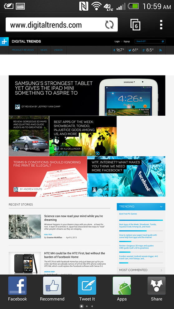 HTC One Review   Digital Trends