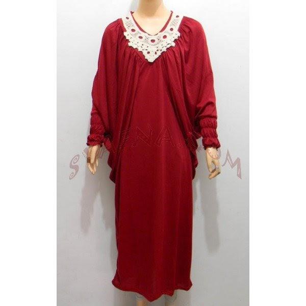 Baju Gamis Batik Hitam Hijab Nemo
