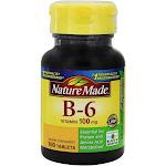 Nature Made Vitamin B6 100 mg. 100 Tablets