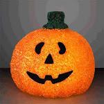 LED Pumpkin Patch Jack O Lantern   Orange   Blinkee