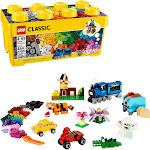 LEGO Classic Medium Creative Brick Box 10696 creative building Toy (484 Pieces)