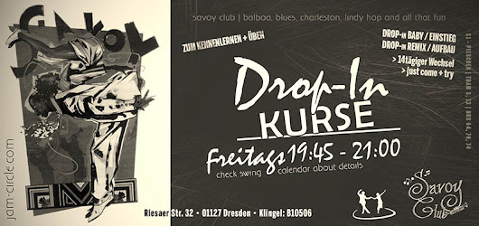 Jam Circle • Swing Tanzen in Dresden | Drop-In Kurse