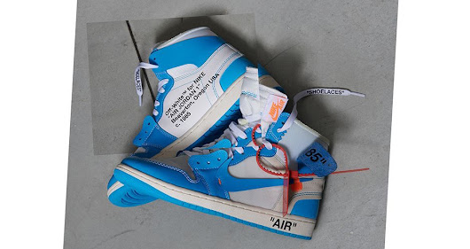 Raffles for the Off White x Jordan Retro 1 UNC (AQ0818-148) - Cop These Kicks