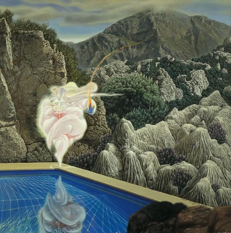 Art Critic - Mati Klarwein - 1976