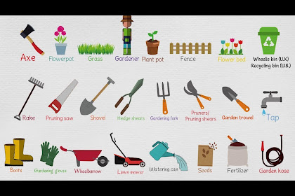 Garden Tools Pictures And Names