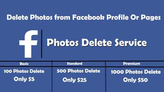 allinexpert : I will delete photos from your facebook profile or pages for $5 on www.fiverr.com