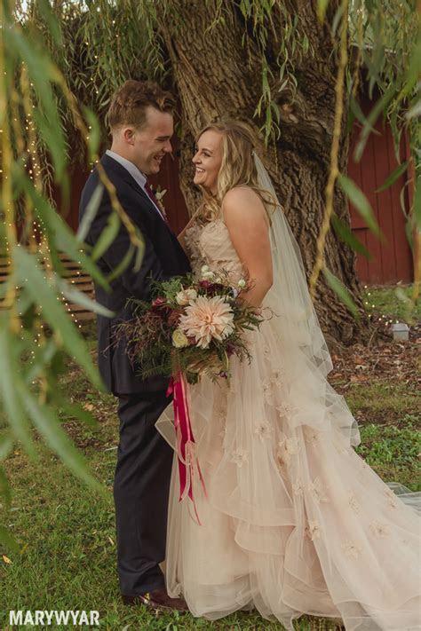 Rustic Fall Outdoor Wedding Photos   Toledo Wedding