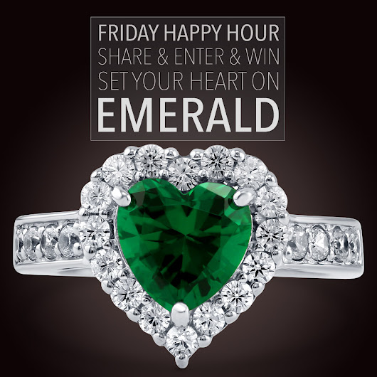 Friday Happy Hour! Enter to win a jewelry piece from Berricle