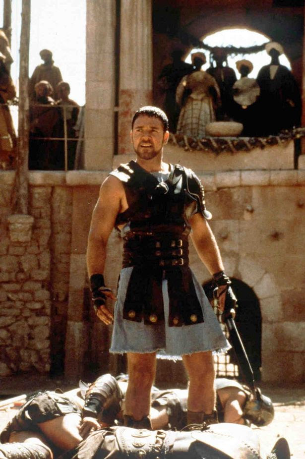 Russell Crowe as Roman general Maximus Gladiator
