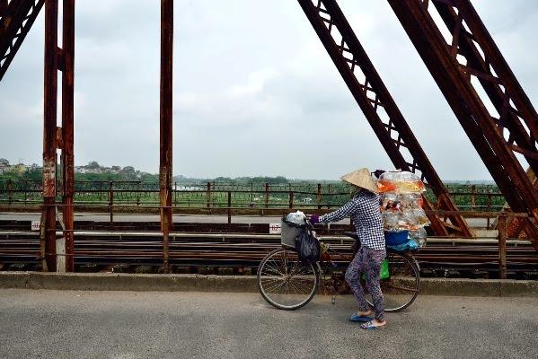 Cầu Long Biên, Thăng Long, Chương Dương, sông Hồng, khóa tình yêu, thủ đô, Hà Nội