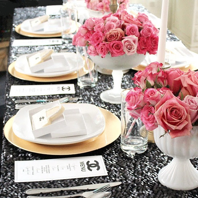Chanel Themed 21st birthday party {Guest Feature} — Celebrations