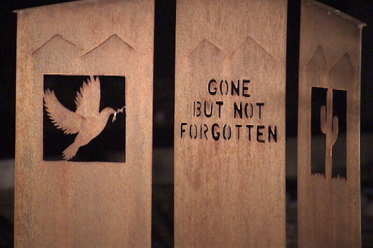 Homeless memorial draws dozens to Evergreen Cemetery