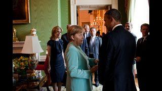 Obama-Merkel Unimpressed