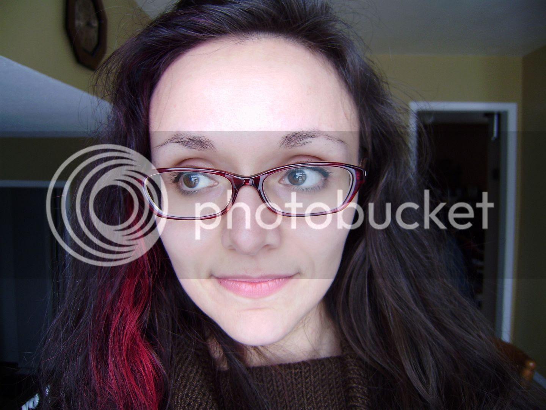 New Glasses - on blog