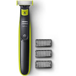 Philips Norelco OneBlade QP2520 Trimmer - Lime Green/Charcoal Gray