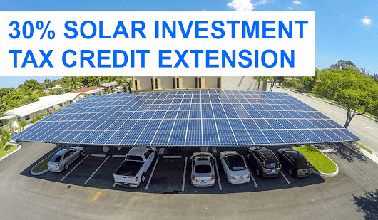 Federal Solar Investment Tax Credit Extends Until 2023 | Solar Energy Contractor | Advanced Green Technologies