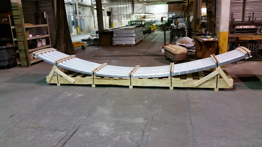 Curved Panels Ready to Ship