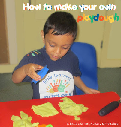 How to make your own Playdough - Little Learners Nurseries