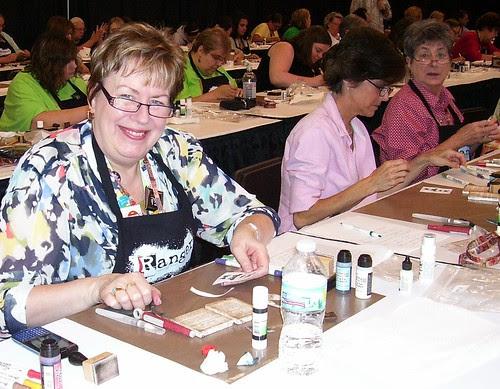 ScrapFest2012 working in TH class