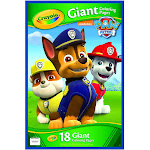 Crayola Giant Coloring Pages - Paw Patrol