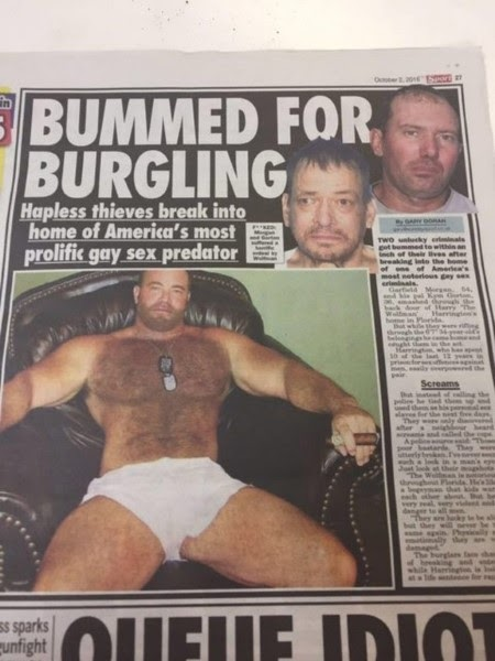 Two Burglars Sodomized For Five Days Straight After Breaking Into The House Of Notorious Gay Rapist