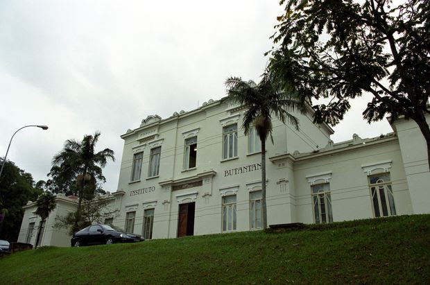 Fachada do Instituto Butantan