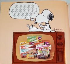 Peanuts Dolly Madison ad