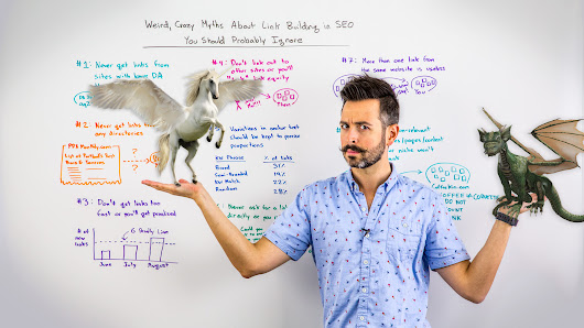 Weird, Crazy Myths About Link Building in SEO You Should Probably Ignore - Whiteboard Friday