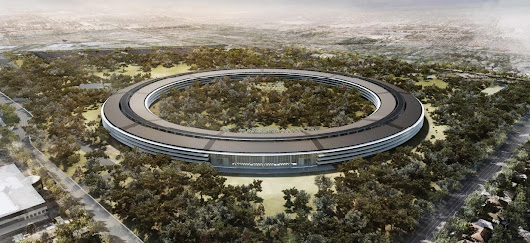 Apple, il drone mostra in video il nuovo quartier generale