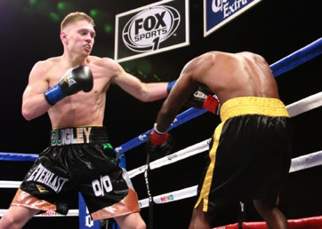 Jason Quigley taking care of the small steps on the road to stardom