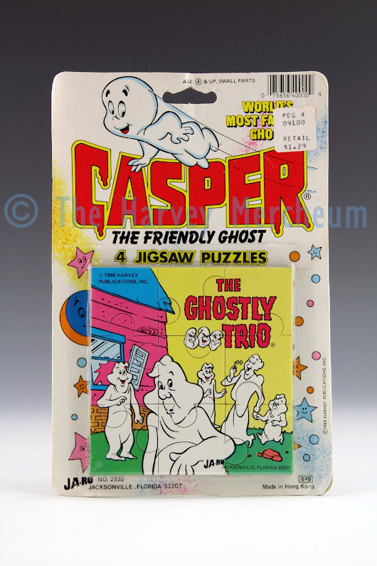 Casper 4 Jigsaw Puzzles, Ghostly Trio variant exhibit posted | The Harvey Mercheum