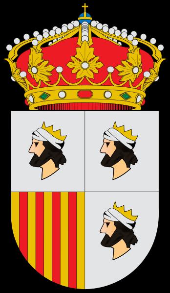 Archivo:Escudo de Caspe.svg