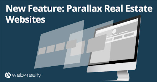 Parallax Real Estate Websites | Web4Realty