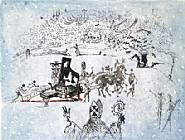 Salvador Dalí - Piano Under Snow (Prints)