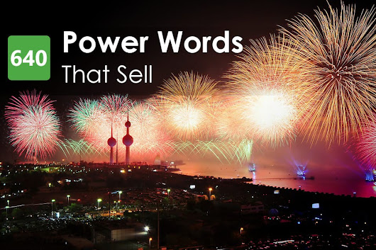 640+ Power Words That Sell to Maximize Your Conversions | Writtent