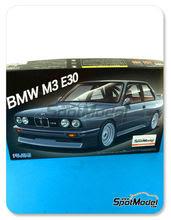 Maqueta de coche 1/24 Fujimi - BMW M3 E30 - maqueta de plástico
