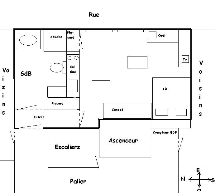 Table et chaises de terrasse feng shui position lit - Orientation d un lit pour bien dormir ...