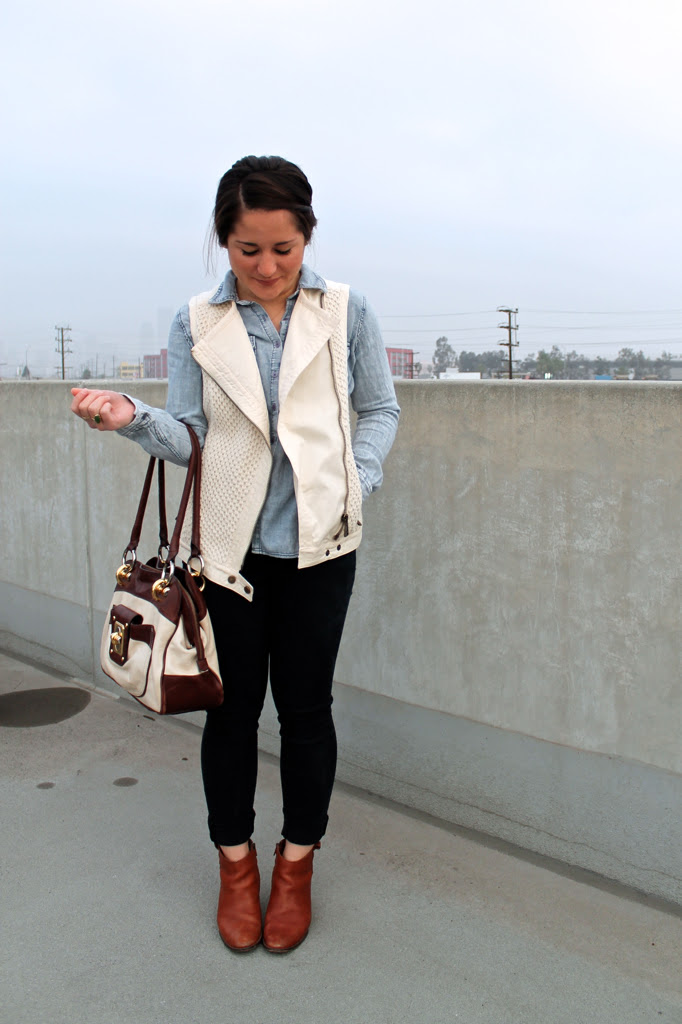 chambray-vest-and-jeans