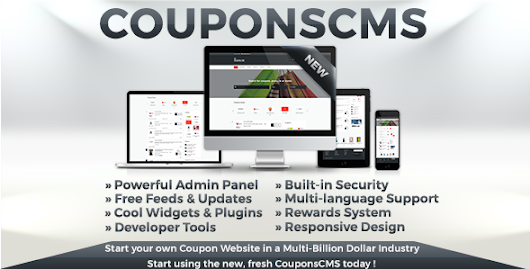 Download Coupons CMS 6 nulled | OXO-NULLED