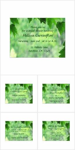 Leafy Wedding