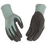 Kinco 1781w-m Women's Bamboo Knit Shell and Latex Palm Glove, Medium