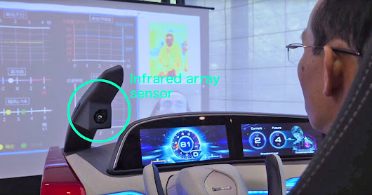 Panasonic AI senses drowsy drivers and cranks up the AC