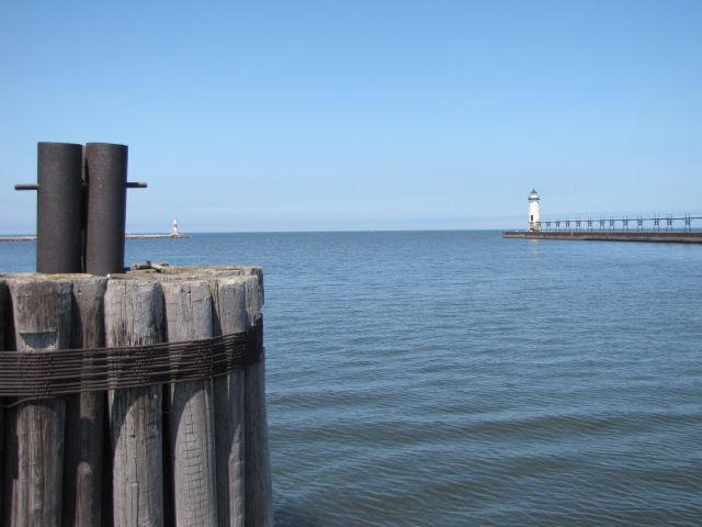 Manistee Michigan channel