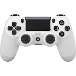 Sony DualShock 4 v2 USB Bluetooth Controller for PS4 Pro/PS4 - Glacier White
