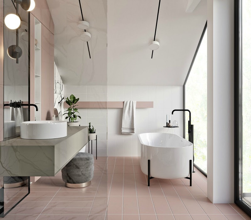 Designs, Colors and Tiles Ideas, 8 Bathroom trends for 2020