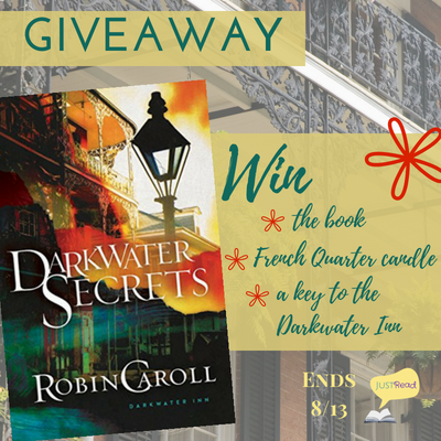 Review + Tour GIVEAWAY: Darkwater Secrets by Robin Caroll