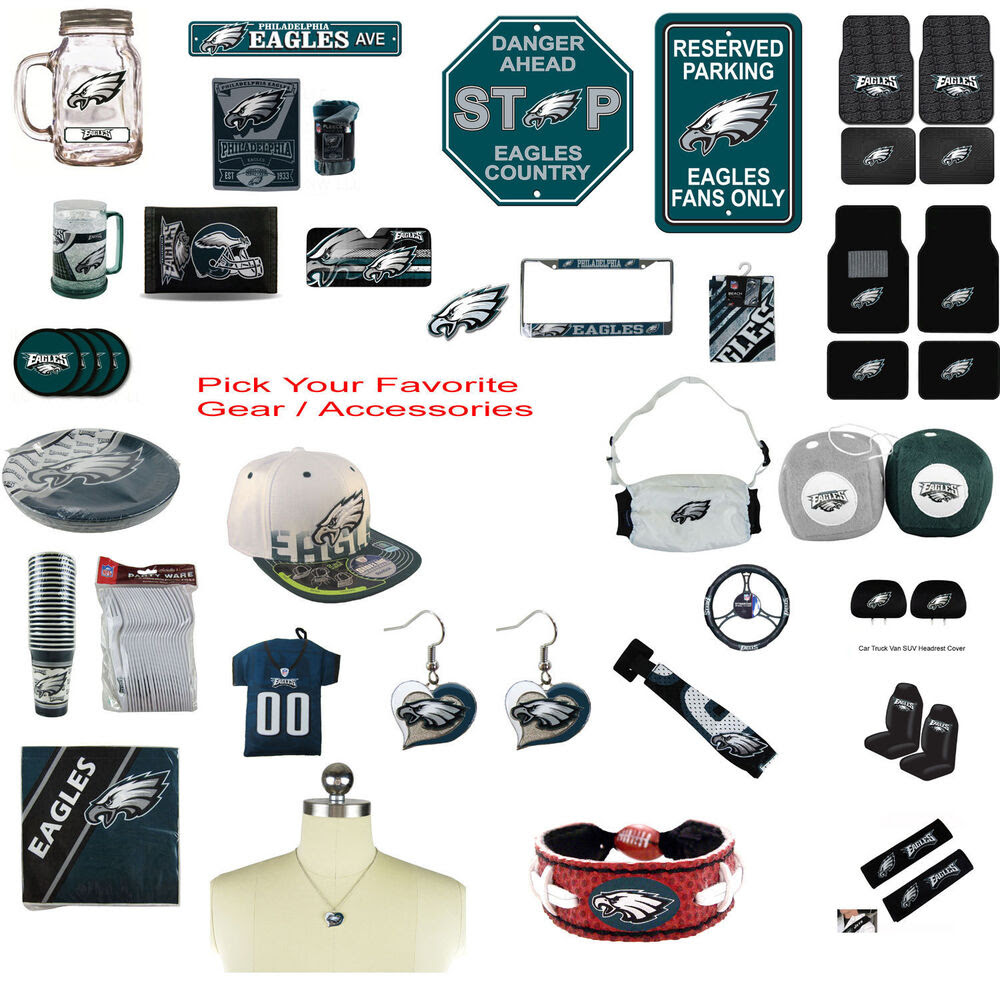 Brand New NFL Philadelphia Eagles Pick Your Gear / Accessories Official Licensed eBay