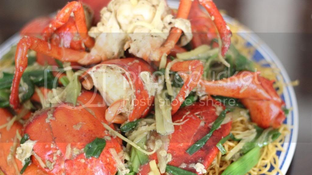 Boriville: Stir-fry Lobster with Ginger and Scallions (Tom Hum Xao Hanh Gung)
