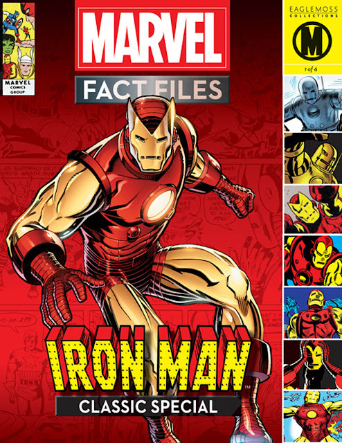 Eaglemoss to launch Marvel Fact Files Classic Specials