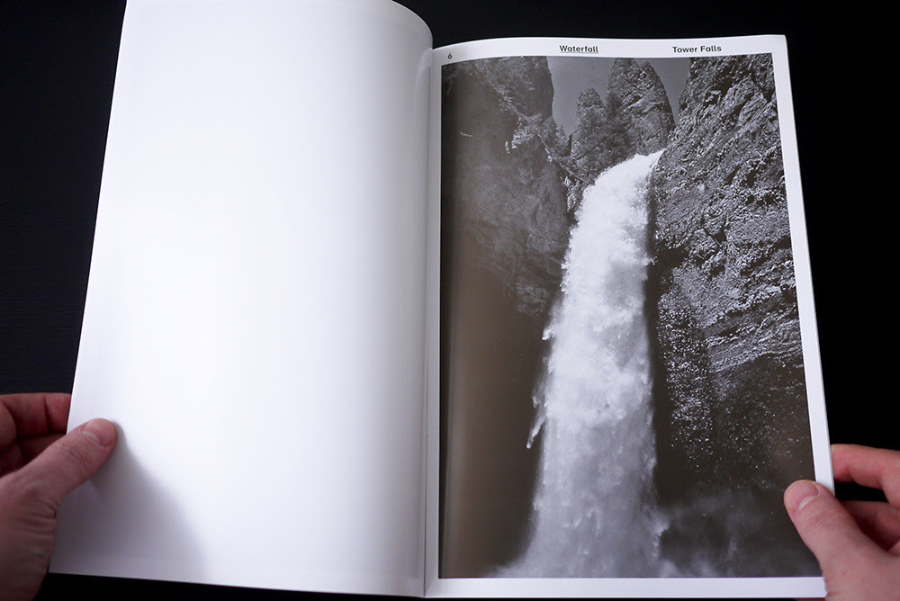 Burel, Ludovic. Waterfall.  it: éditions, 2008, 32 pages.